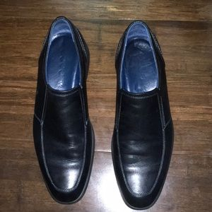 [ ECCO ] LEATHER LOAFERS